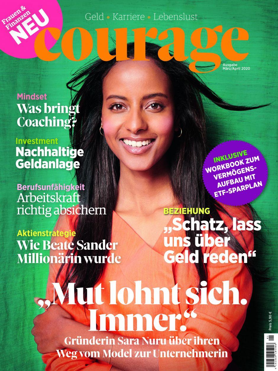 Courage cover, Finanzen Verlag
