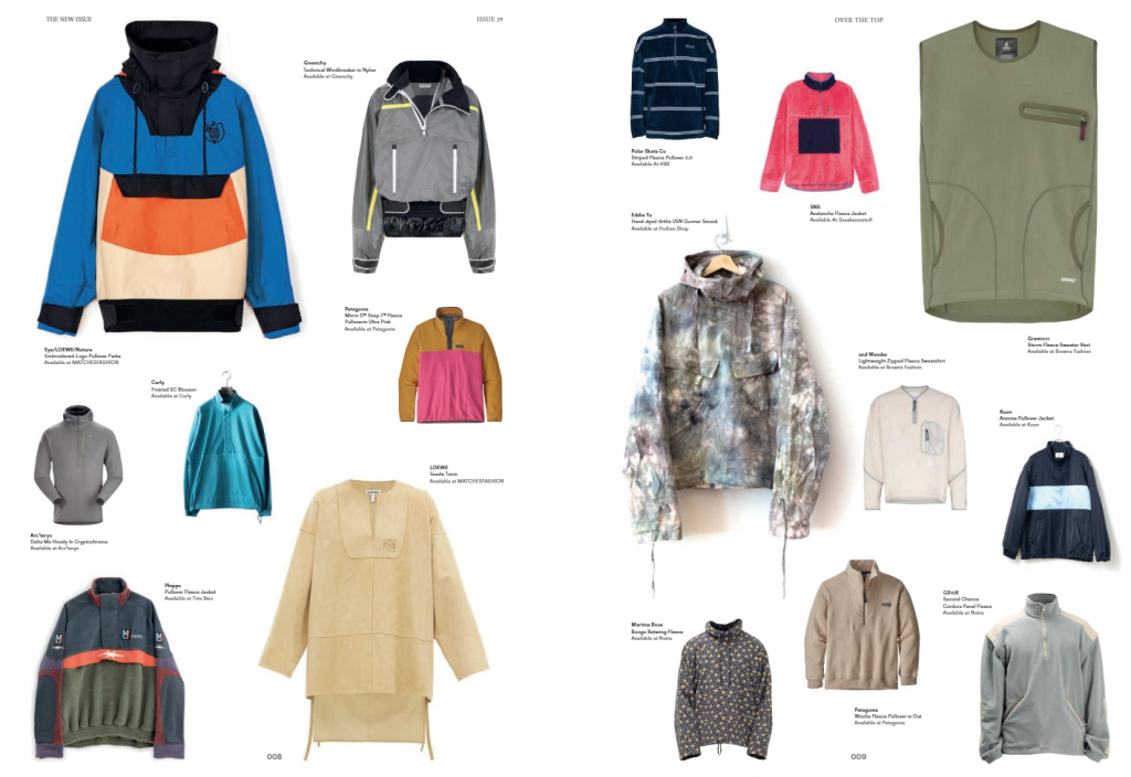 Hypebeast fashion pages