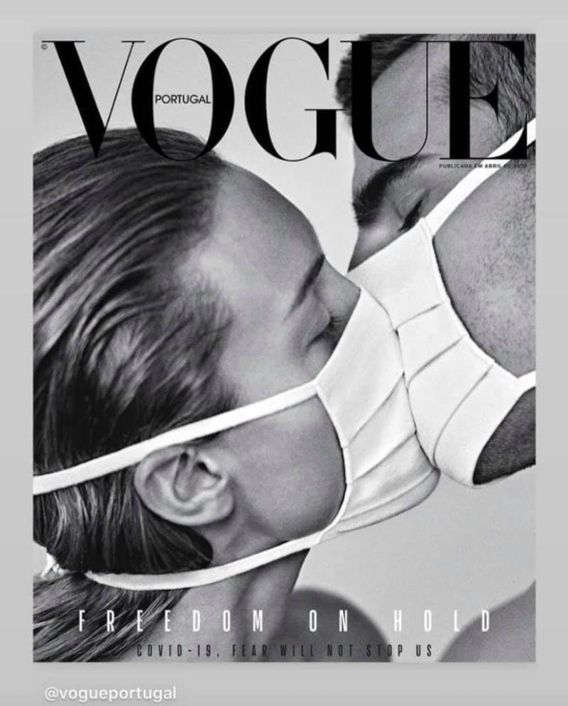 Vogue couverture Corona