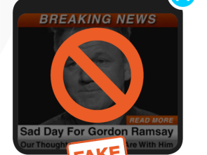 Fake ad with Gordon Ramsay