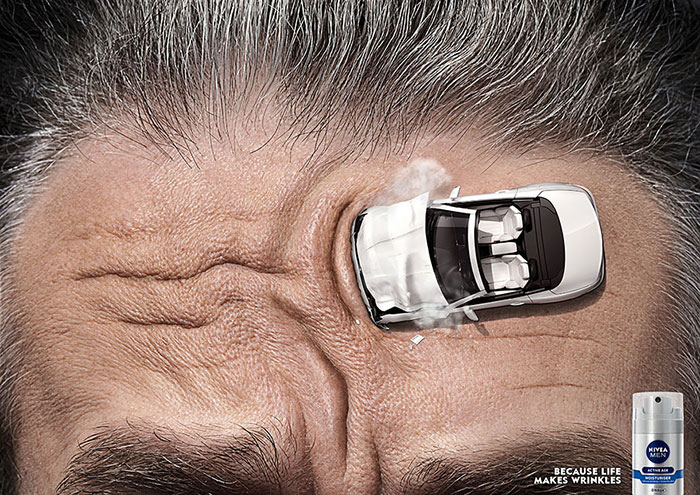 Nivea for men ad - car