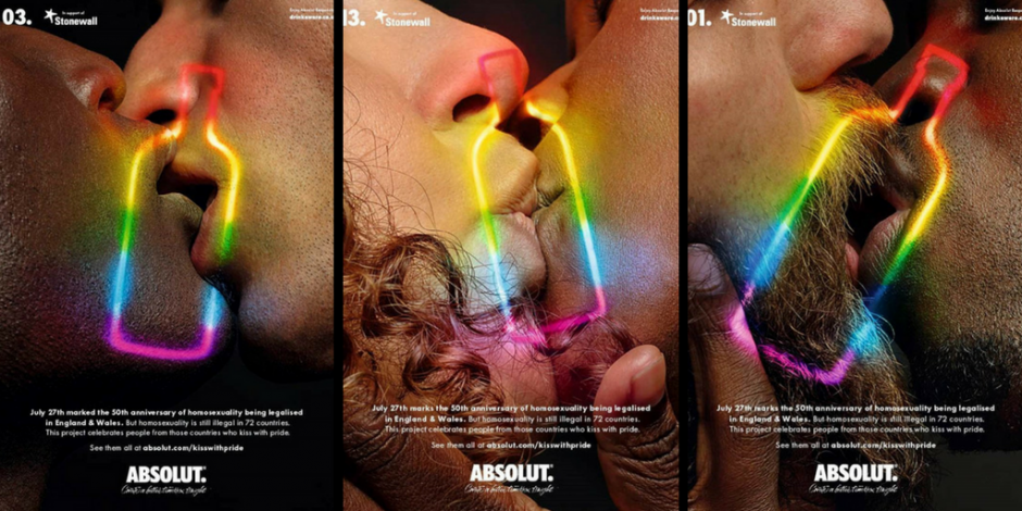 Absolut Vodka ad - LHTBI+