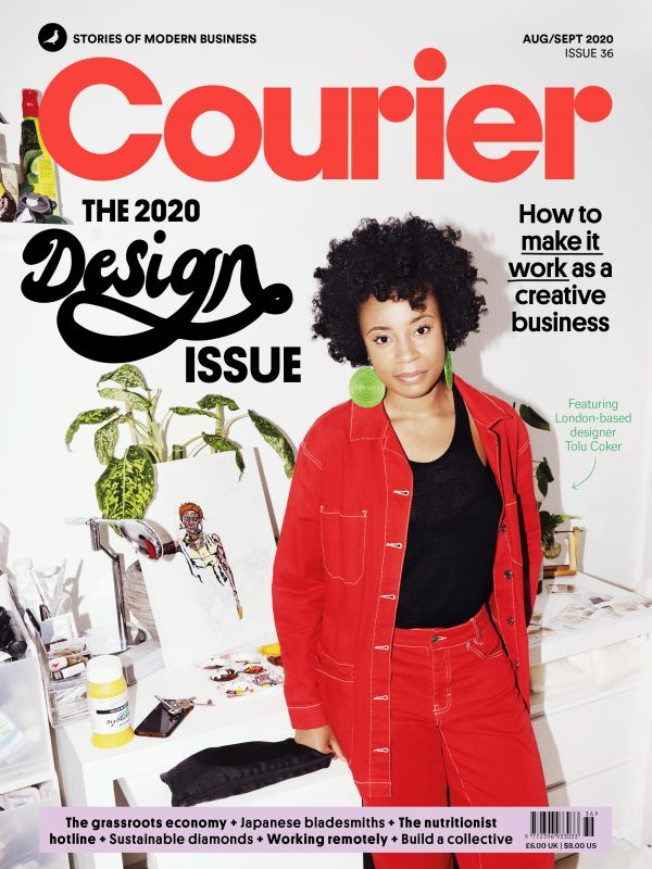 Courier Magazine cover