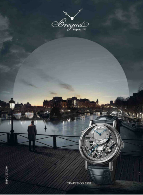 Breguet ad in Trends Tendances